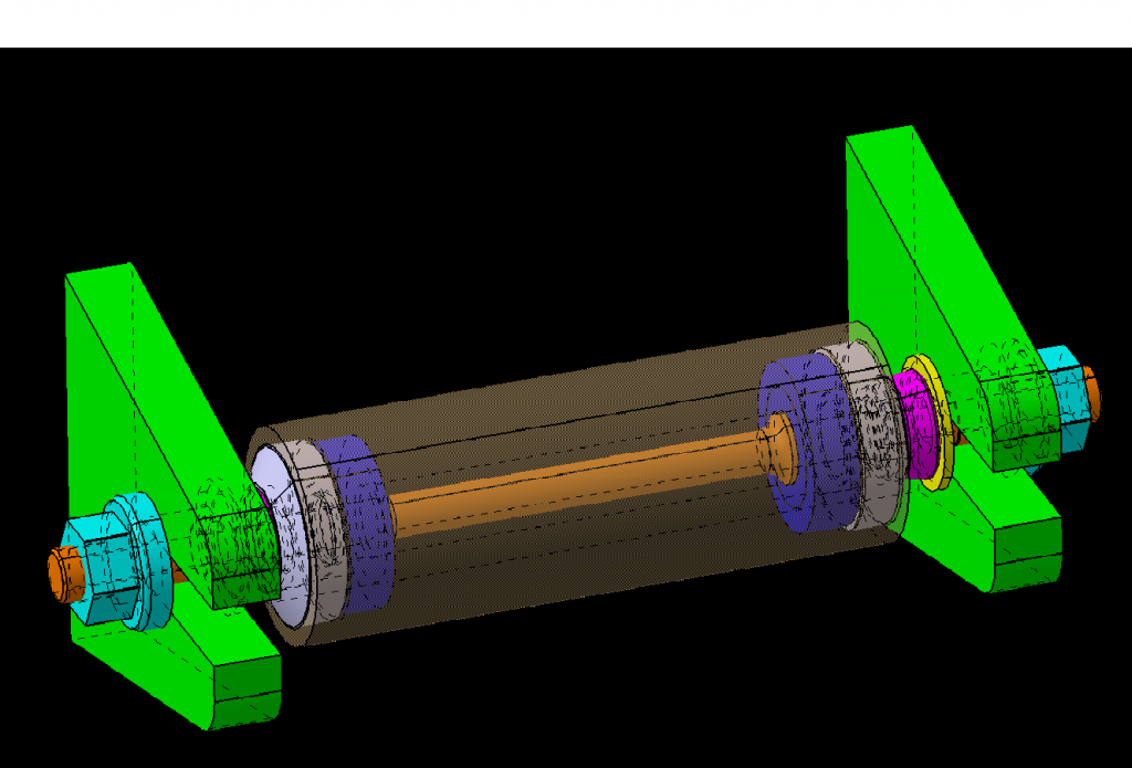 CAD Design for Axle Assembly